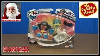 SANTA CLAUS: Mr Potato Head Transformer Surprise Toy unboxing