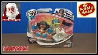 SANTA CLAUS: Mr Potato Head Transformer Surprise Toy unboxing