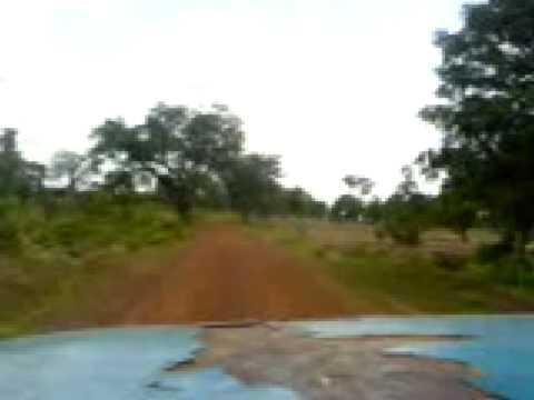Ride to hippo sanctuary near Wa Ghana