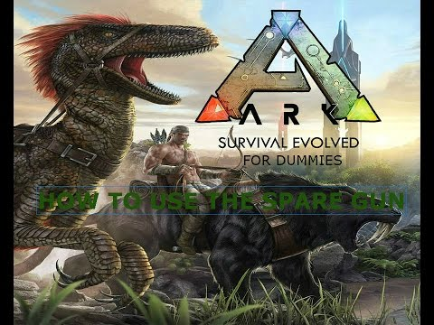 how to us the spray gun on ark on xbox one/ps4