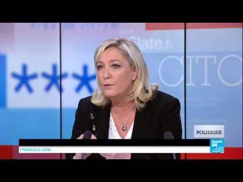 """Marine Le Pen : """"Ce que vit la Tunisie est la conséquence des erreurs de Sarkozy"""""""
