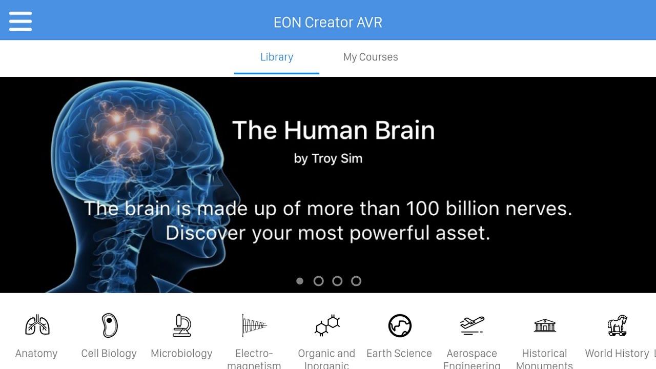Creator AVR - EON Reality