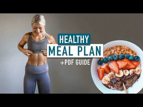 HEALTHY MEAL PLAN | What I eat in a day for Strength, Power, lean Muscle Mass + PDF guide