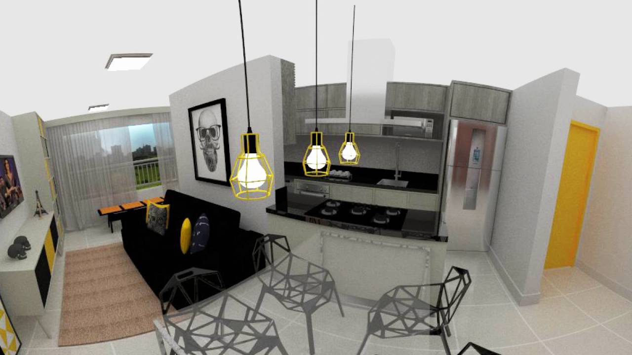 Design de Interiores 360° | Apartamento Moycano - Stúdio Arq Connect