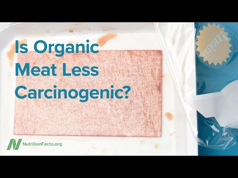 Is Organic Meat Less Carcinogenic?