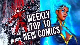 TOP 10 NEW COṀIC BOOKS FOR APRIL 21st 2021 - BEST COMICS OF THE WEEK - NEW COMIC BOOK REVIEWS
