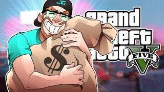 GTA 5 MY FIRST $200000 JOB! (GTA 5 RP Multiplayer Role Play)