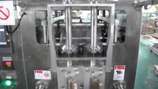 PM-190H2-L Double-Lane VFFS Stick Packing Machine couple with Piston Filler and Steel #316 Hooper