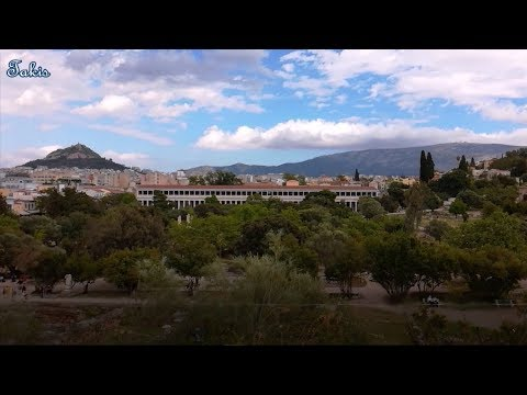 A walk in Ancient Agora of Athens