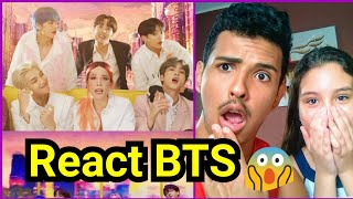 Baixar Brazilian Reaction BTS Boy With Luv Feat Halsey (Oficcial MV)