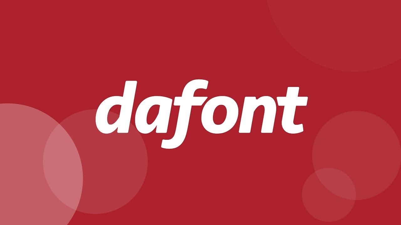 DAFONT ile ilgili görsel sonucu