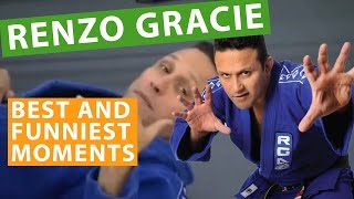 Renzo Gracie - Best and Funniest Moments Part 1