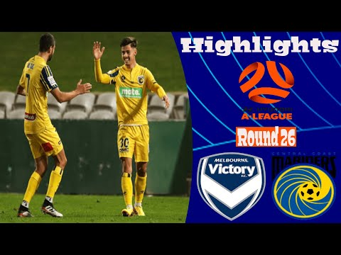 Melbourne Victory Central Coast Goals And Highlights