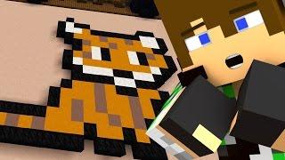 TRA PIXEL ART E BRUTTI ORCHI - Minecraft Build Battle