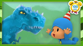 🦕POCOYO in ENGLISH - Dinosaurs for kids  [100 min ] | Full Episodes | VIDEOS and CARTOONS