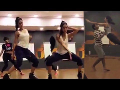 Katrina Kaif Hot Dance Rehearsal For Upcoming Film !!