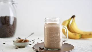 Experience Fresh - Overnight oats shake met banaan en koffie