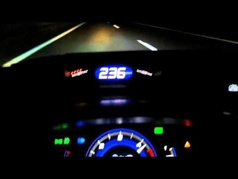 Honda Civic FK3 246kmh Top Speed
