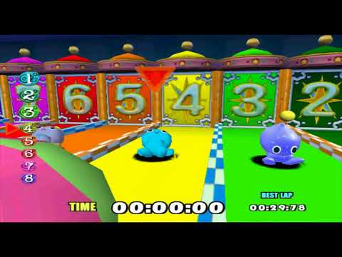 Chao Racing 2017 Cartoon Character Tournament Round Of 8 First Half