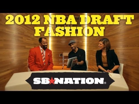 2012 NBA Draft: Draft Fashion with Clyde Frazier