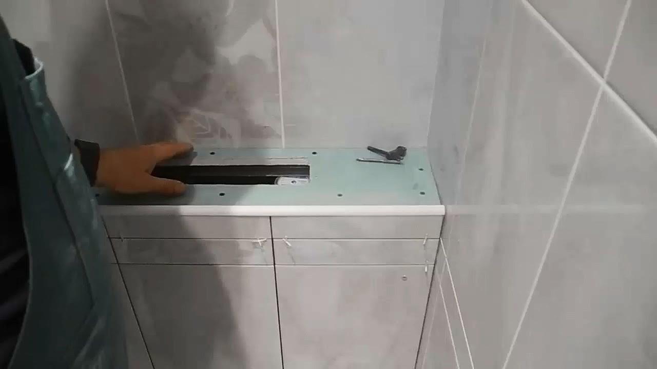 Как сделать короб в туалете из гипсокартона фото 381