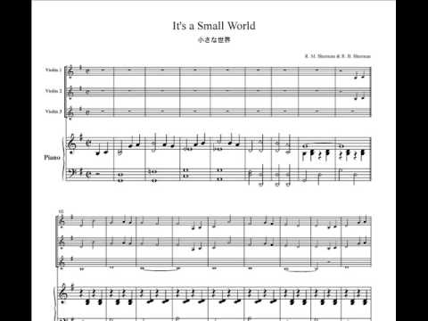 Image only its a small world for 3 violins piano vn306 youtube image only its a small world for 3 violins piano vn306 youtube publicscrutiny Images