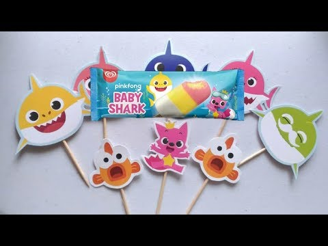 Makan Es Krim Baby Shark Pas Habis Di Sunat Baby Ali Icel Tetap Semangat Kunyah Es Krim Walls