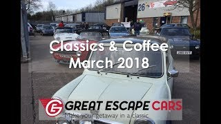Classics and Coffee March 2018