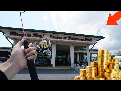 Fishing At A Casino!! (kicked Out?)