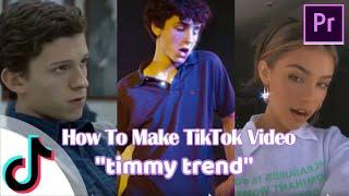 Cara buat video tiktok timmy trend dengan mudah menggunakan premier