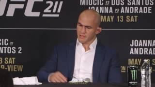 UFC 211 Post-Fight Press Conference: Junior dos Santos - MMA Fighting