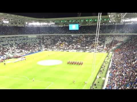 Presentazione spettacolare ITALIA allo Stadium