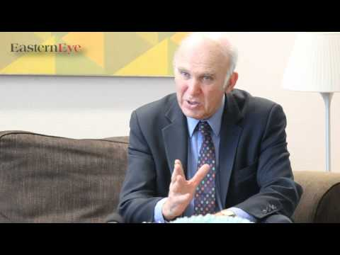 Vince Cable interviewed by Eastern Eye