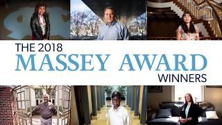 Massey Award winner Greg Gangi