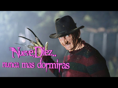 cancion de freddy krueger con letra