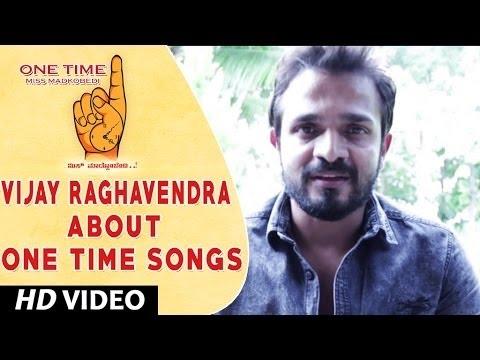 One Time Kannada Movie || Vijay Raghavendra Wishing One Time Movie team || Tejus, Neha Saxena