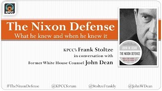John Dean and 'The Nixon Defense'