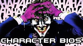 Character Bios: The Joker (DC COMICS) VILLAIN'S MONTH #8