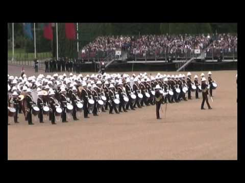 Beating Retreat 2009 - The Massed Bands of HM Royal Marines - PART ONE