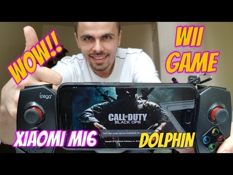 Gameplay Call of Duty: Black Ops Android Smartphone Wii Game Emulator Dolphin test - 동영상