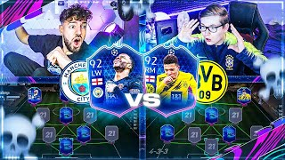 FIFA 21: BVB vs MAN CITY CL Squad Builder Battle 💀💀 Champions League 🔥🔥