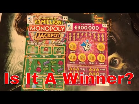 Winning ? Video From National Lottery Sratch Cards By NL Dreams (013)
