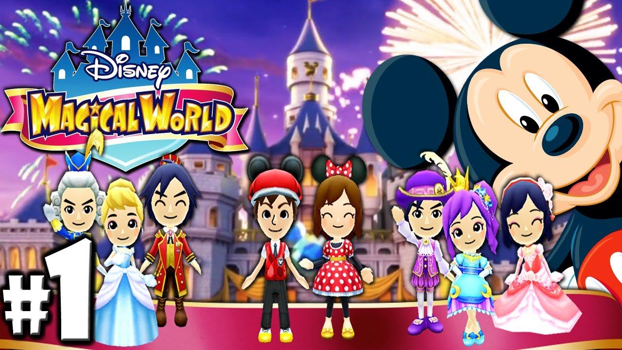 Disney Magical World Meeting Mickey Part 1 Nintendo 3ds