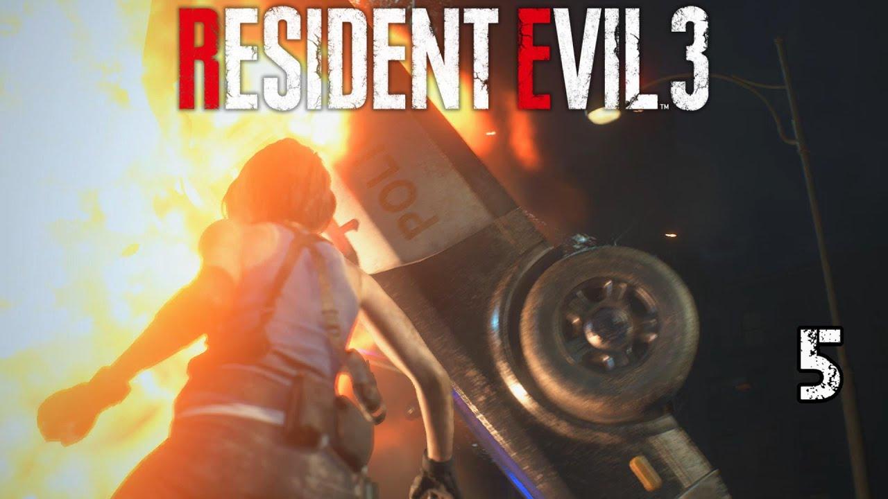 Resident Evil 3 - Five