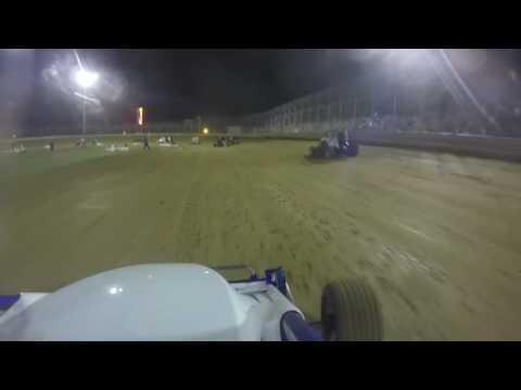 Clyde Martin Speedway Wingless 600 7/2/16 A-Main