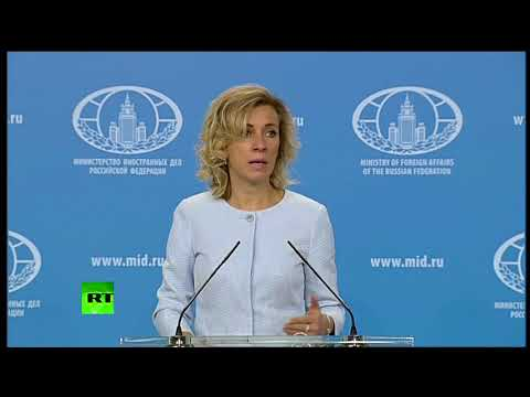 Russian Foreign Ministry weekly news briefing