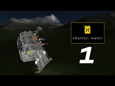 Kerbal Polar Expedition - Day 5 - Part 1 (Charity Water Campaign)