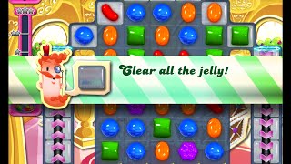 Candy Crush Saga Level 1015 walkthrough (no boosters)
