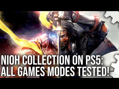 Nioh Collection PS5 vs PS4 Pro + 4K, Quality, 120Hz Modes Tested on Both Games
