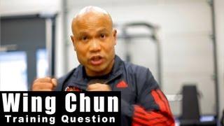 Wing Chun training - wing chun use in mma Q23
